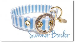 summer border Blue◆ベルト