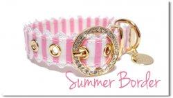 summer border pink ◆ベルト