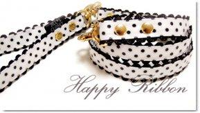 Happy Ribbon Black リード