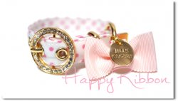 Happy Ribbon pink◆miniベルト