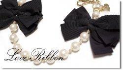Love Ribbon B カートチャーム
