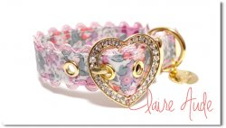 LIBERTY Claire Aude Heart pink◆ベルト