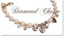 Diamond charm カートチャーム