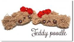 Teddy poodle*brown