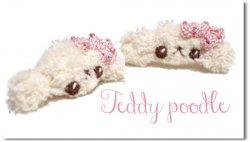 Teddy poodle*cream
