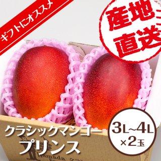 【定番】クラシックマンゴー プリンス 3L〜4L×2玉