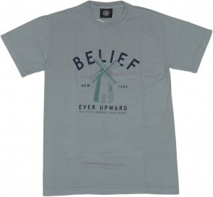 BELIEF NYC OLD MILL Tシャツ  -グラニット