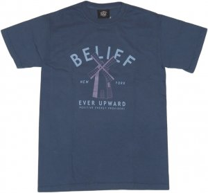 BELIEF NYC OLD MILL Tシャツ  -ミッドナイト