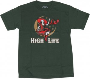 LICK NYC HIGH LIFE Tシャツ -グリーン