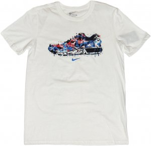 NIKE WATER COLOR SNEAKER Tシャツ -ホワイト