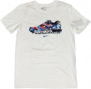 NIKE WATER COLOR SNEAKER Tシャツ -ホワイト