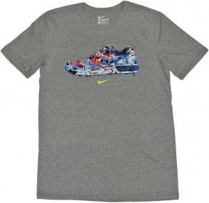 NIKE WATER COLOR SNEAKER Tシャツ -グレー