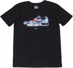 NIKE WATER COLOR SNEAKER Tシャツ -ブラック
