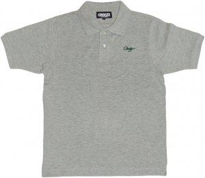 CROOZE SCRIPT ポロシャツ -グレー