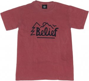 Belief NYC OUTSIDERS Tシャツ -ブリック