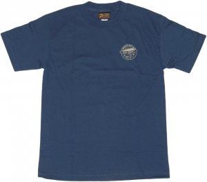 BENNY GOLD ZEPPEIN Tシャツ -ヘザーブルー