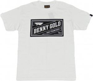 BENNY GOLD CLASSIC STAMP Tシャツ -ホワイト