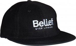 Belief NYC CONNECT 6パネル コーデュロイキャップ -ブラック