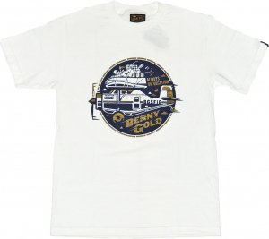 BENNY GOLD AIR ADVENTURE Tシャツ -ホワイト
