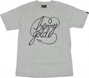BENNY GOLD CLASSIC SCRIPT Tシャツ -グレー