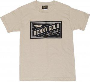 BENNY GOLD CLASSIC STAMP Tシャツ -サンド