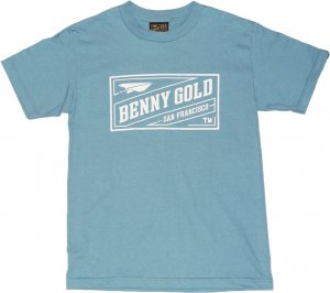 BENNY GOLD CLASSIC STAMP Tシャツ -スレート