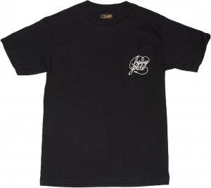 BENNY GOLD CLASSIC SCRIPT POCKET  Tシャツ -ブラック