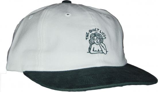 31747e03ccd0c THE QUIET LIFE SMOKING GIRL POLO HAT -ホワイト・フォレスト - CROOZE ...