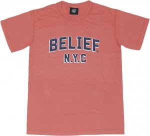 BELIEF NYC COLLEGE Tシャツ -クミン