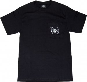 BELIEF NYC PHYSICS ポケットTシャツ -ブラック