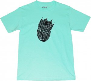 LICK NYC KING OF BROOKLYN  Tシャツ -ティファニー