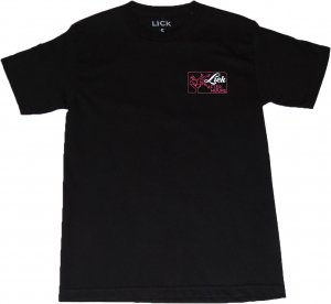 LICK NYC AFTER HOURS Tシャツ -ブラック