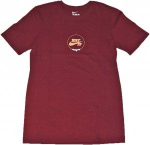 NIKE SB ロゴ Tシャツ -バーガンディー