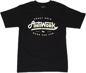 BENNY GOLD ANTI-WORK WEAR Tシャツ -ブラック