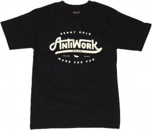 BENNY GOLD ANTI-WORK WEAR Tシャツ -ブラック