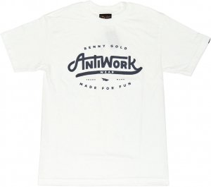 BENNY GOLD ANTI-WORK WEAR Tシャツ -ホワイト