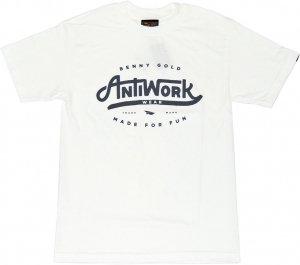 BENNY GOLD ANTI-WORK WEAR Tシャツ -ホワイト