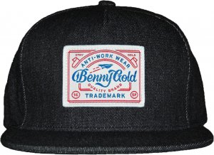 BENNY GOLD UNION DENIM STRAPBACK  -ブラック