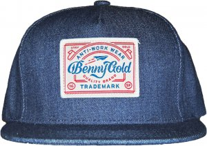 BENNY GOLD UNION DENIM STRAPBACK  -デニム