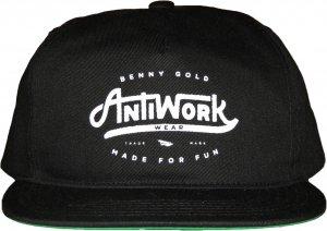 BENNY GOLD ANTI-WORK TWILL UNSTRUCTURED スナップバック -ブラック
