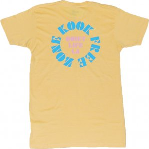 THE QUIET LIFE ZONE Tシャツ -イエロー