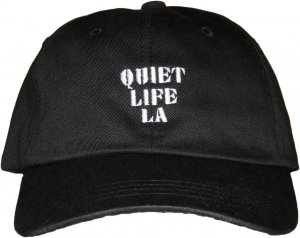 THE QUIET LIFE ZONE DAD HAT -ブラック