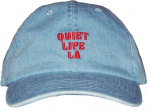 THE QUIET LIFE ZONE DAD HAT -デニム