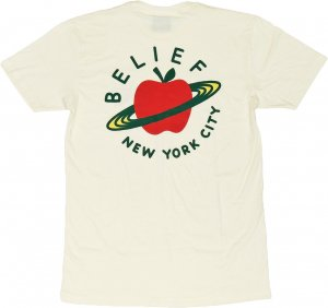 Belief NYC CITY SPACE Tシャツ -クリーム