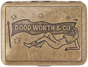 Good Worth & Co Jane Fondle Cigarette Case