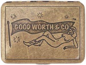 Good Worth & Co Jane Fondle Cigarette Case
