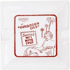 Good Worth & Co Forbidden City Ashtray