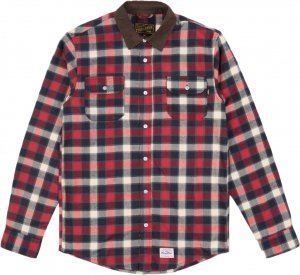 Benny Gold Venture Flannel Shirt -レッド