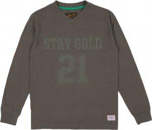 Benny Gold Premium Field Goal Long Sleeve Tee -チャコール