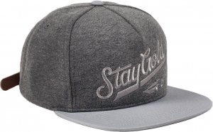 Benny Gold All Star Fleece Strapback Hat -チャコール